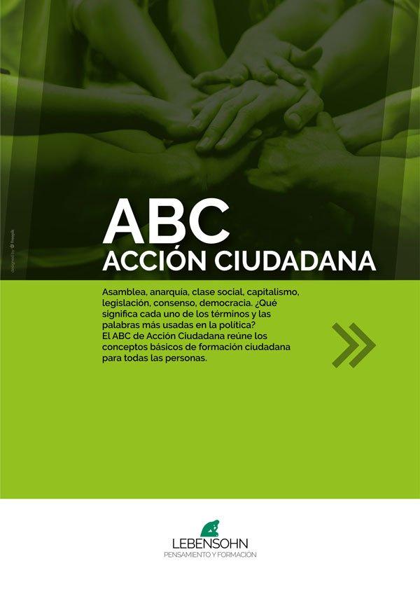 Tapa del ABC - Acción Ciudadana - Tapa