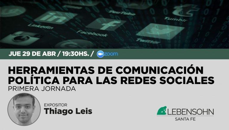Primera jornada del taller Herramientas de comunicación política para las redes sociales