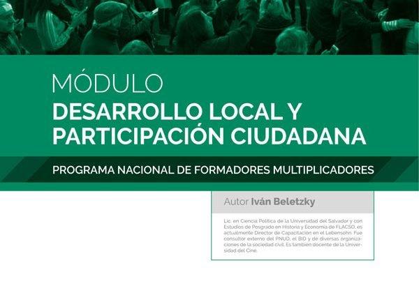 Desarrollo local y participación ciudadana - Ivan Beletzky - Tapa