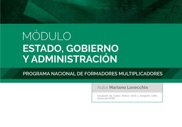 Estado, Gobierno y Administración - Mariano Levecchia - Tapa