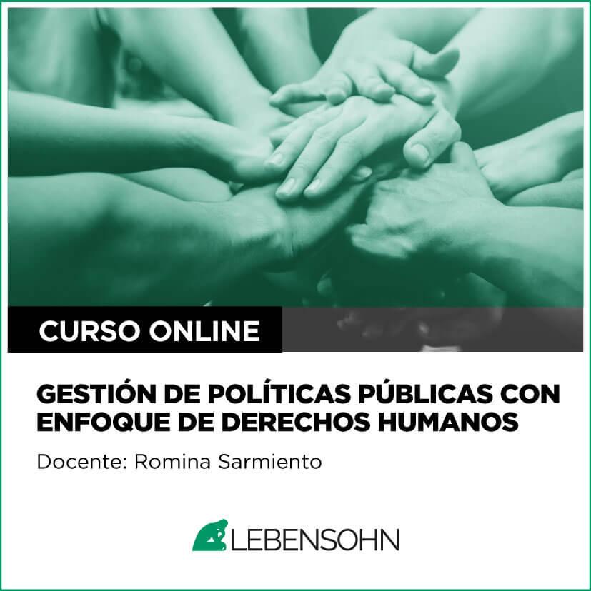 Gestión de Políticas Públicas con Enfoque de Derechos Humanos