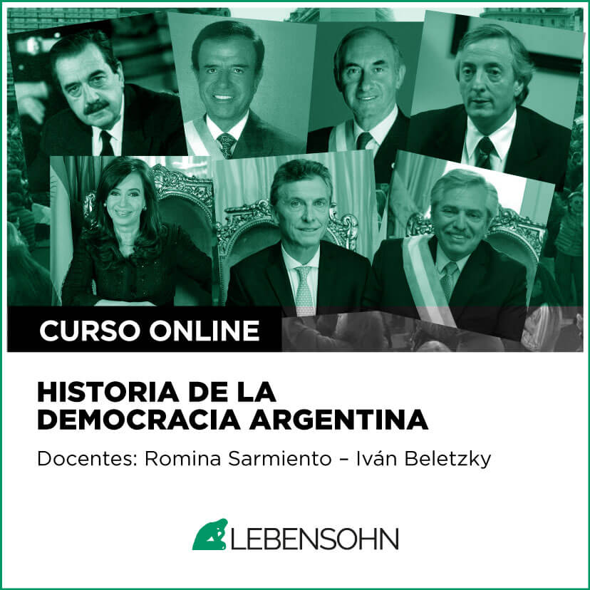 Historia de la democracia Argentina