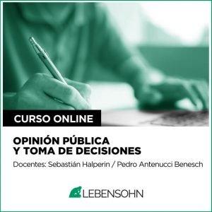 Opinión pública y toma de decisiones