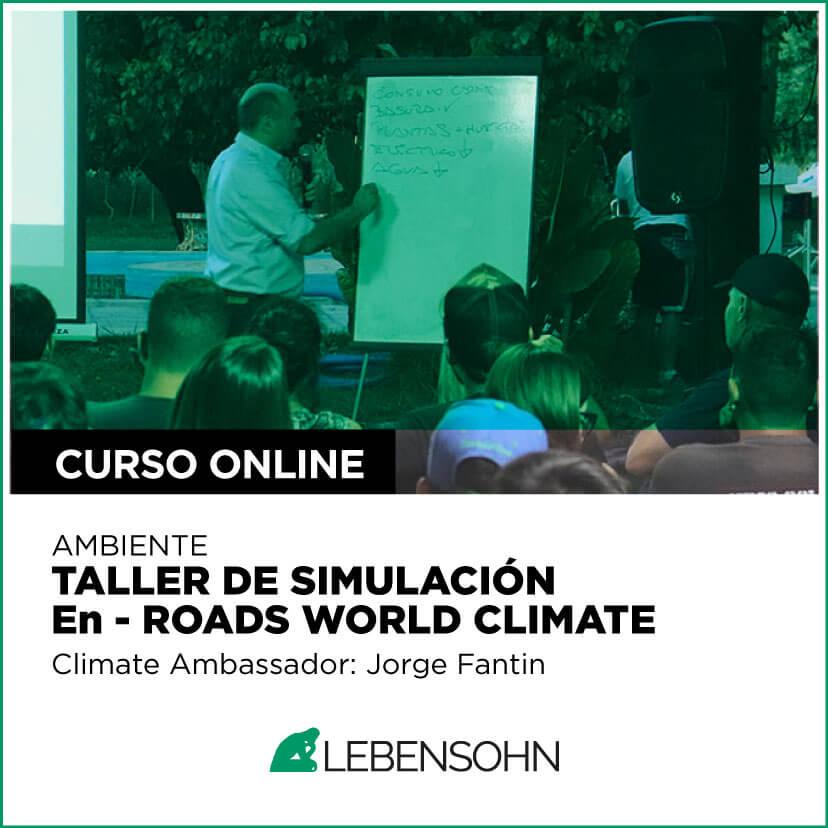Taller de simulación en - Roads World Climate