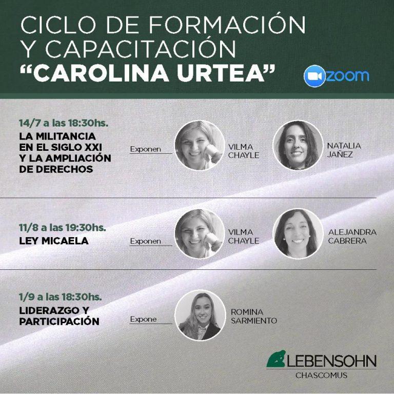 Ciclo de Formación y Capacitación «Carolina Urtea»