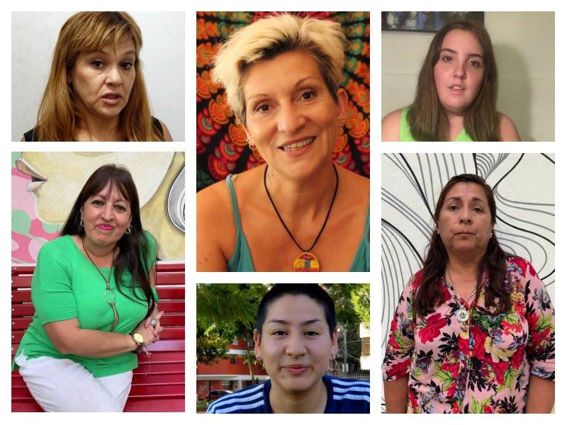 mujeres participantes de la campaña